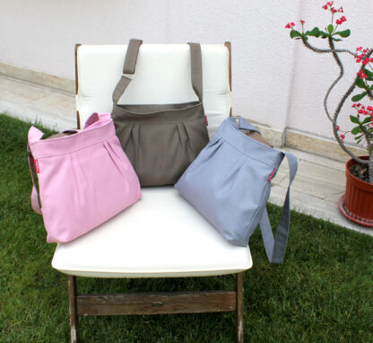 Small Pleated Canvas bag
