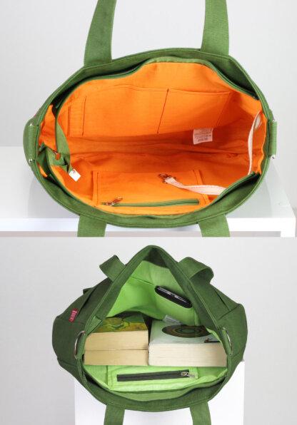 Light Military Green Bag