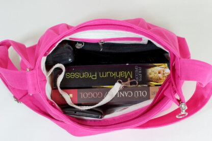 pink purse bag