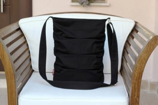 Black small tote bag