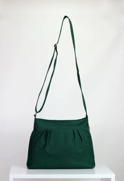 green small vegan purse bag