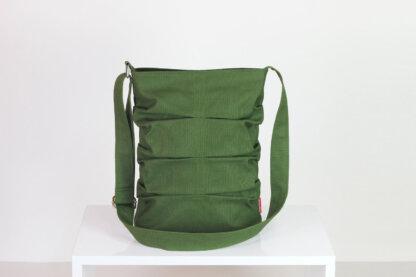 Green small tote bag