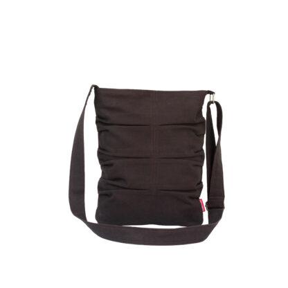 Dark Brown Small Cute Tote Bag
