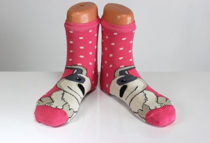 doggy face funny socks