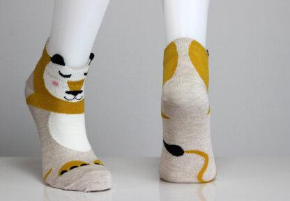 Panda Bear Socks