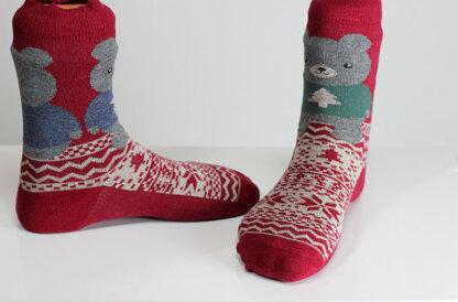 Teddy Bear Socks