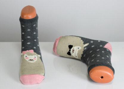 happy sheep fun socks