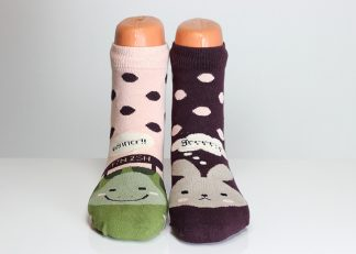 Turtle Rabbit Socks
