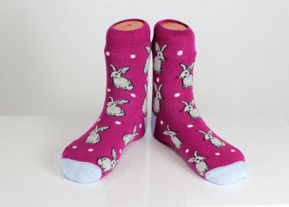 Rabbit Funny Socks