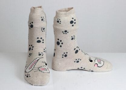 Rabbit Paw Socks