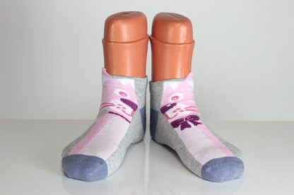 Pink Fox Socks