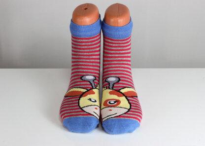 Funny Striped Socks