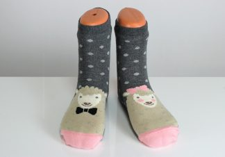 happy sheep fun socks