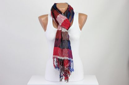 Crinkle Crumpled Crushed Scarf