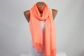 Orange Luminous Scarf