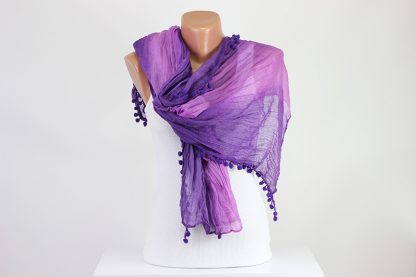 Pink Lilac Scarf