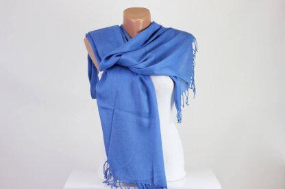 Blue Pashmina Scarf