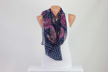 Blue Women Scarf