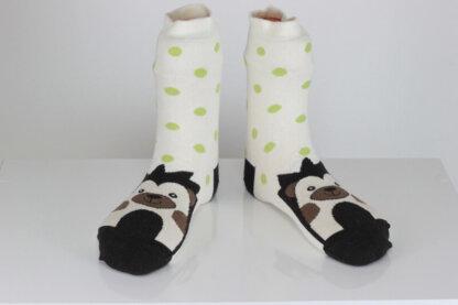 Hedgehog funny socks