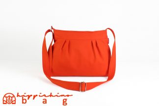 Orange Canvas Bag