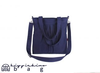 Navy Blue Shoulder Crossbody Bag