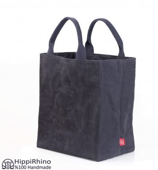 Waxed Grocery Bag