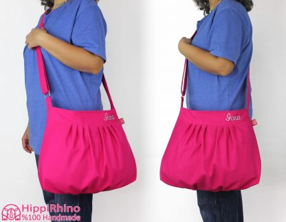 Embroidered Custom Purse Bag