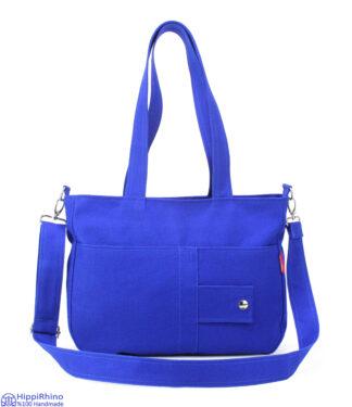 Blue Handmade Shoulder Bag